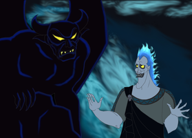 Hades and Chernabog by Artemysia