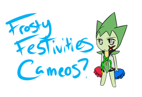 Frosty Festivities - Cameo Request by TamberMana