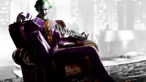 Arkham City Joker with cards by MoonySascha