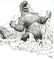 Godzilla from Dark Horse Comic by Stonegate
