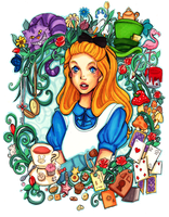 Alice's adventures in Wonderland by Namtia