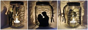 It's A Wonderful Life Candle Holder by Bonniemarie