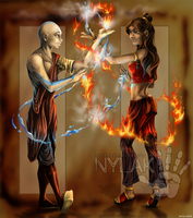 Avatar.Kataang : Steam by Nylak