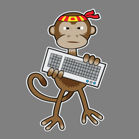 Code Monkey Extreme by moopf