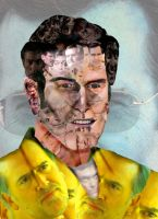 Bruce Campbell by Zippedbinders