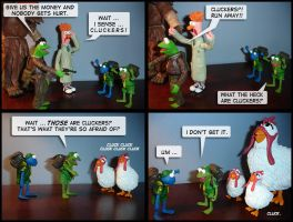 Seremuppety Part 3: Cluckers by walkerboh