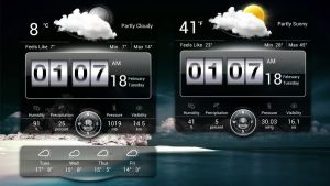 Weather Plus Widget HD v3 (PACK 1) for xwidget by jimking