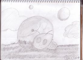 Lady Bug and Bubble by DominosAreFalling