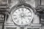 Clock in pencil by worthyG