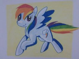 It is Rainbow, It is Dash by Carol-aredesu