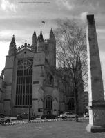 Abbey and Obelisk by EarthHart