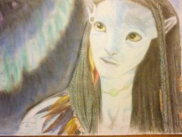 neytiri eyes jake by mina-is-cool