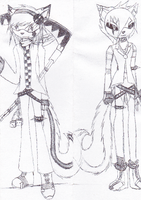 Discord and Seiren Bookmark by Lingering-Horizon