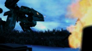 Metal Gear REX Testing by SkirmisherDak