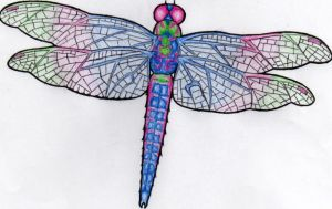dragonfly tattoo by blue-14