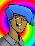Chris Hart Coloring Page: Cool Dude by PeterSFay
