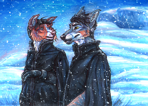 Winter Isn't The Only Thing Coming by naravox