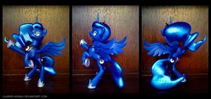 Princess Luna 3D Printed Figure by Clawed-Nyasu