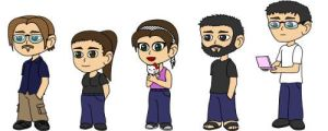 Chibi Group by Xelioth