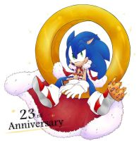 Happy 23rd anniversary by Foxie-sonadowlover