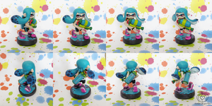 Inkling Girl Custom Amiibo by Amandkyo-Su