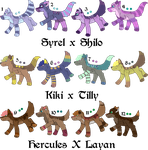 Pair My Breedables Litters 9 - Open by KittehzAdopts