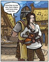 Arissa the Wandering Rogue by Thornweaver