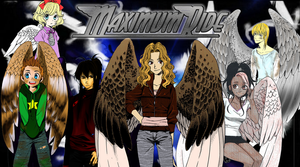 Maximum Ride MangaPoster Color by JayPrower