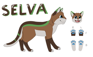 Selva Ref Sheet by CoolCodeCat