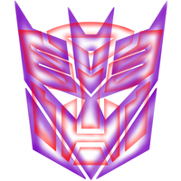 Transformers T-Shirt Logo Design inverted backgrou by magigrapix