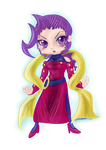 Rose - Street Fighter [SD - Chibi] by CaptainZelda07