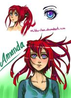 Amanda, how I see her today ! by Thildou-chan