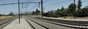 Train Station - Panoramic by Viremi