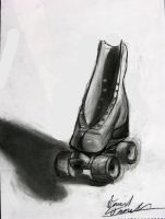 Rollerskate Still Life by TheDonQuixotic