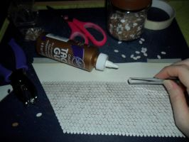 Retro Dollhouse WIP: Shingles part 1 by kayanah