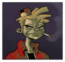 Spirou by The-Mirrorball-Man