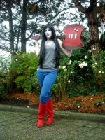 ::AT:: Marceline the Vampire Queen by NaKaya