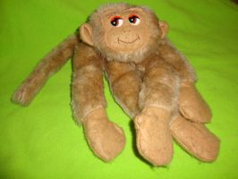 Monkey plush by CLPennelly