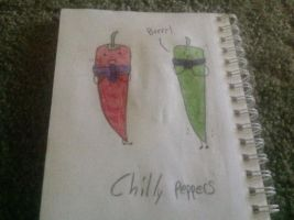 Chilly peppers by Sracer25