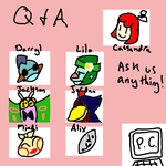 Q and A Closed by phantomflame03