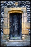 Courtyard Door by Megglles