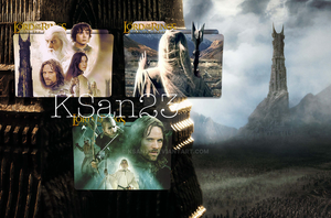 Lord of The Rings: The Two Towers Packaged Icons by KSan23