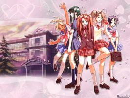 Love Hina Wallpaper by KenAkamatsu