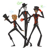 Steam Powered Giraffe by CrystallizedTwilight