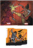 marvel Universe sketch cards38 by TomKellyART