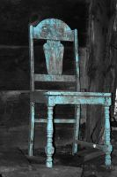 Blue Chair by breaking-reality