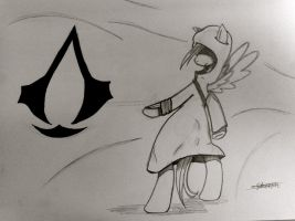Assassin's Creed Pony: wallpaper by SketchPony2010