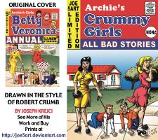 Archie cover after Robert Crumb - Crummy Girls by Joe5art