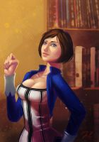 Elizabeth [Bioshock Infinite] by deadmanchimi