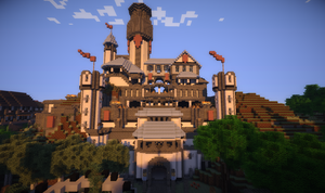 Leodia Castle,HD shader by BlACKPAST